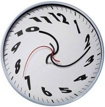 ساعت های درهم